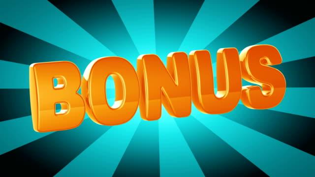 bonus - bonus video stock e b–roll