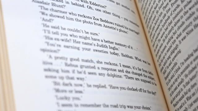 vídeos y material grabado en eventos de stock de libros flips - libro