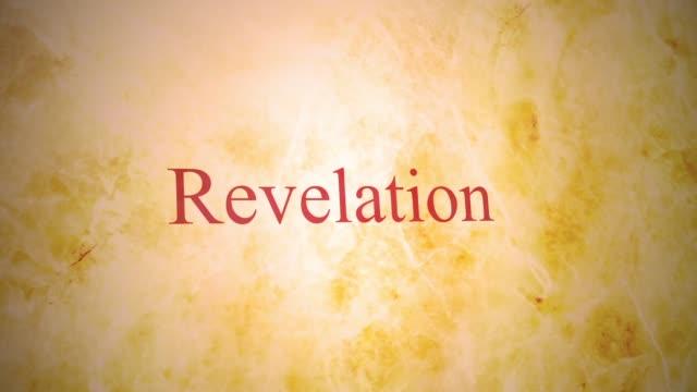 stockvideo's en b-roll-footage met boeken van het nieuwe testament in de bijbel-serie - openbaring - nieuwe testament