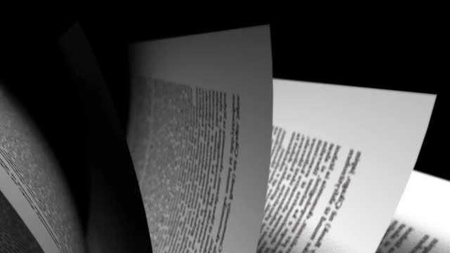book's page turning video