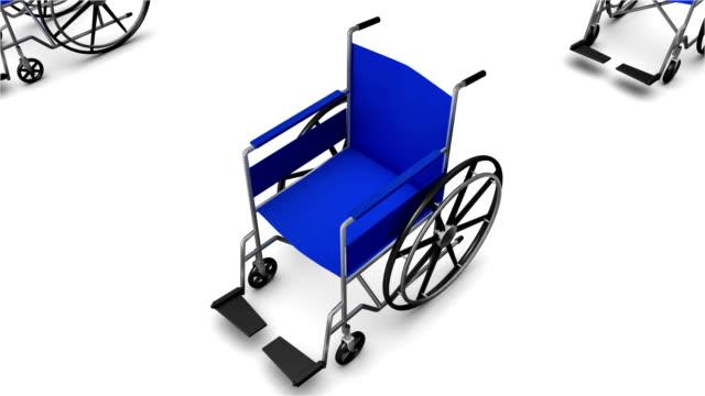 Desde un acceso para silla de ruedas, le ofrecen innumerables silla de ruedas - vídeo