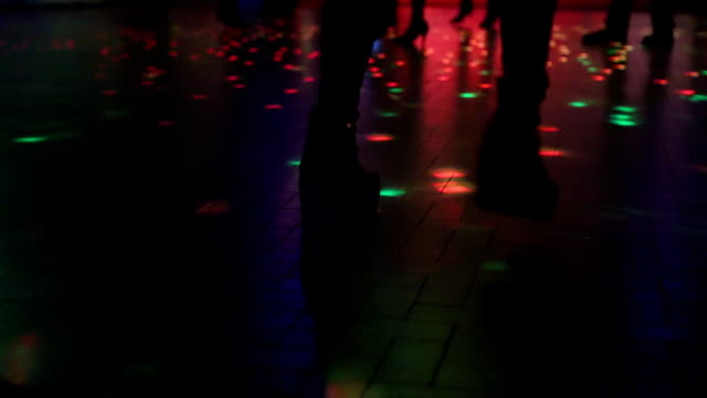 boots dancing in discotheque video