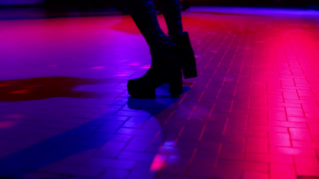 boots dancing on the lights video
