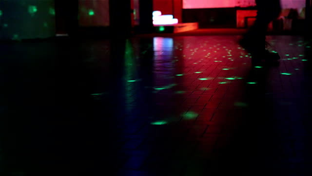 boots walking on dance floor video