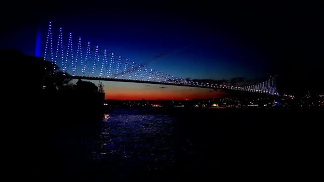 HD: Bosphorus Bridge , Istanbul, TURKEY video