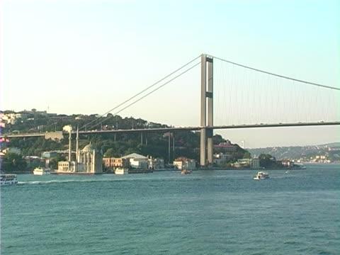 bosporus - passenger craft stock videos & royalty-free footage