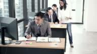 istock Boss assign work to business team 1166241522