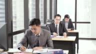 istock Boss assign work to business team 1166249862