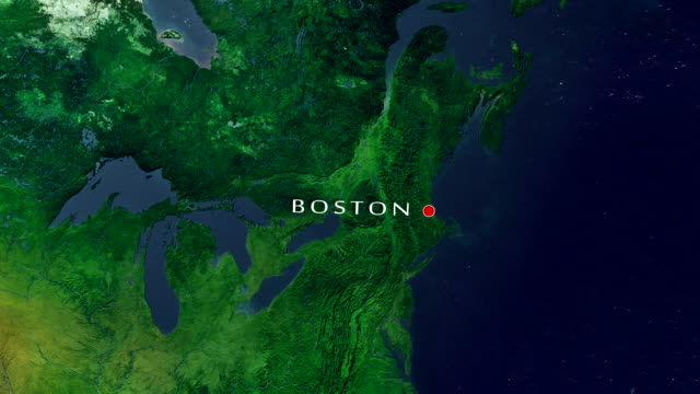 Boston 4K Zoom In video