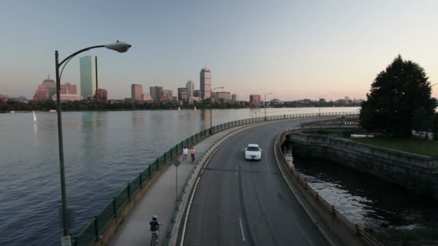 Boston and Memorial Drive video