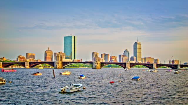 Boston and river video