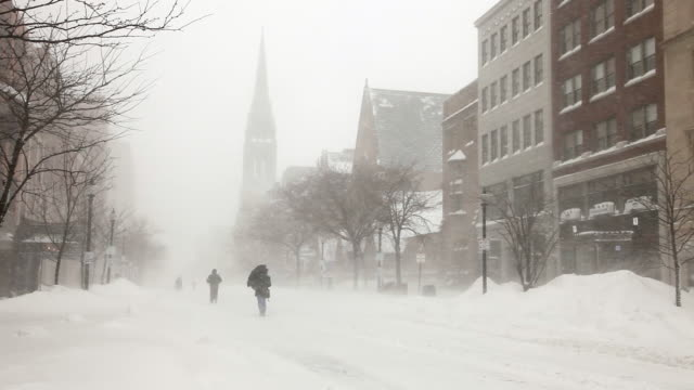Boston Ventisca 2015.   Snowiest invierno en la historia de Boston - vídeo