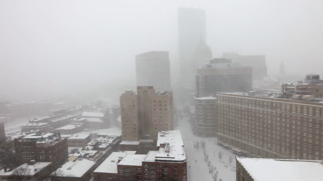 Boston Blizzard 2015. Snowiest Winter in Boston's History video