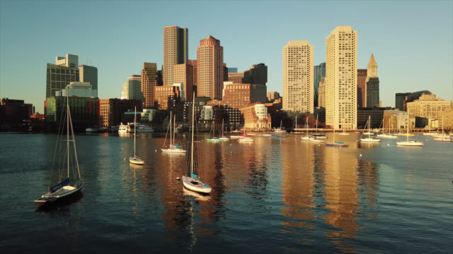 Boston Harbor video