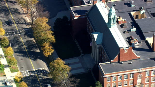 Boston Latin Public School  - Aerial View - Massachusetts,  Suffolk County,  United States video