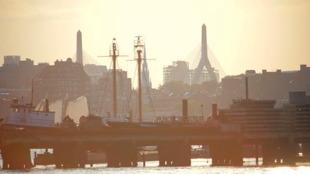 Boston, MA - Leonard P. Zakim Bunker Hill Memorial Bridge video