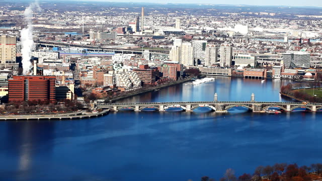 Boston, Massachusetts along the Charles River video