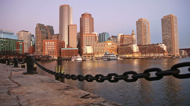 Boston, Massachusetts Waterfront video