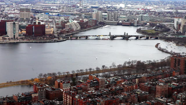 Boston, Massachusetts with the Charles River video