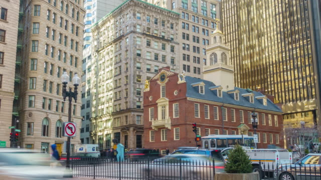 Boston Old State House building video
