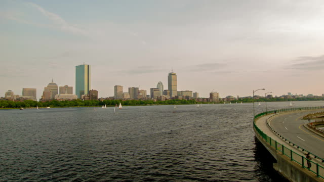 Boston river video
