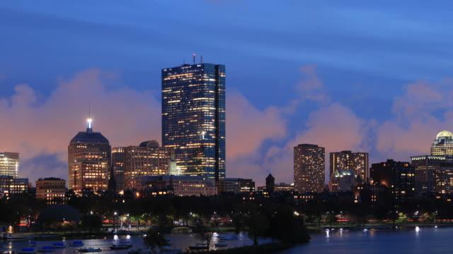 Boston Skyline Panorama video