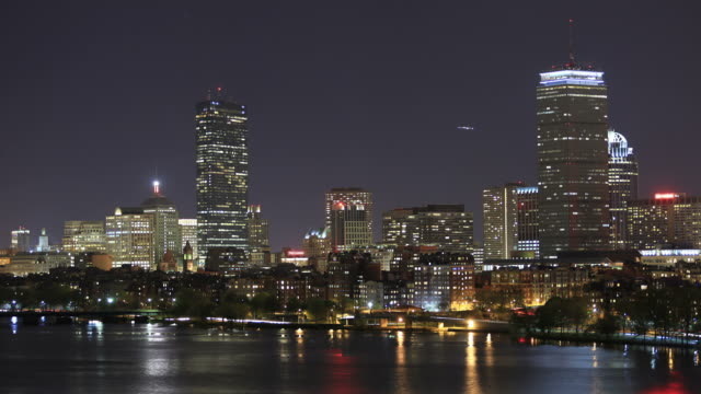 Boston Skyline video