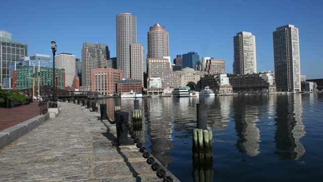 Boston Waterfront video