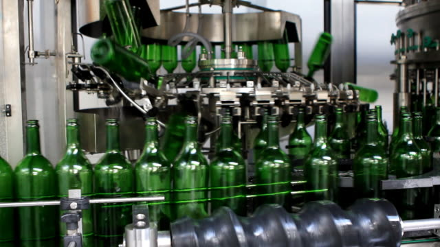 Bottling plant video
