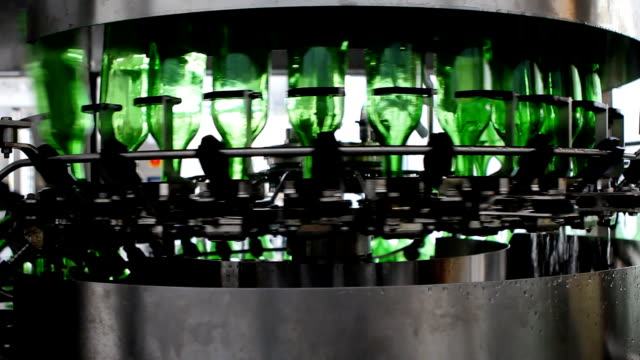 Bottling plant (HD) video