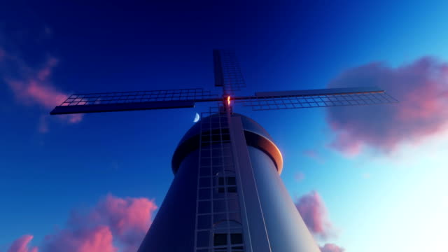 Bottom view of the Windmill