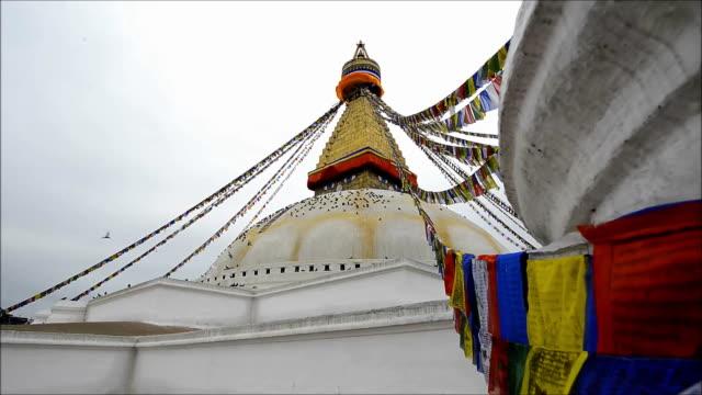 Boudhanath Pagoda Kathmandu Valley Nepal video
