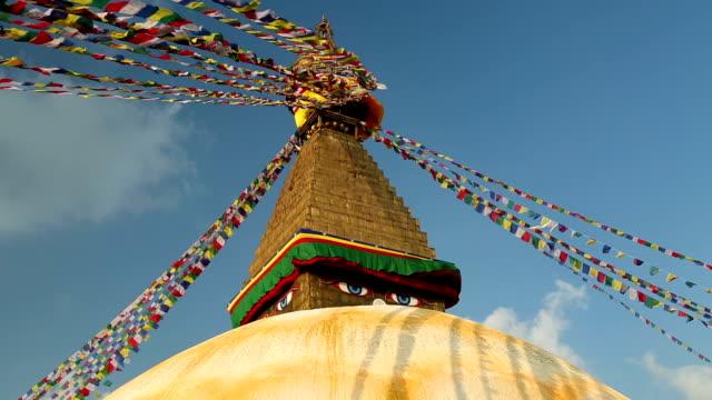 boudhanath stupa from nepal video