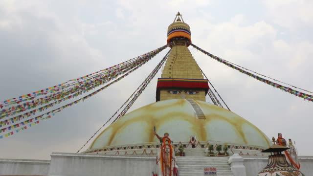 Boudhanath stupa, Kathmandu, Nepal video