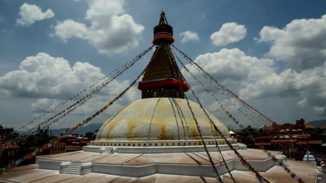 Boudhanath Stupa Time-lapse: Kathmandu, Nepal video