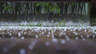 istock Bouncing Hail, close up 1318622415