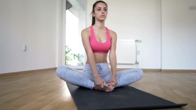 Bound Angle Pose - Cobbler Pose - Baddha Konasana video