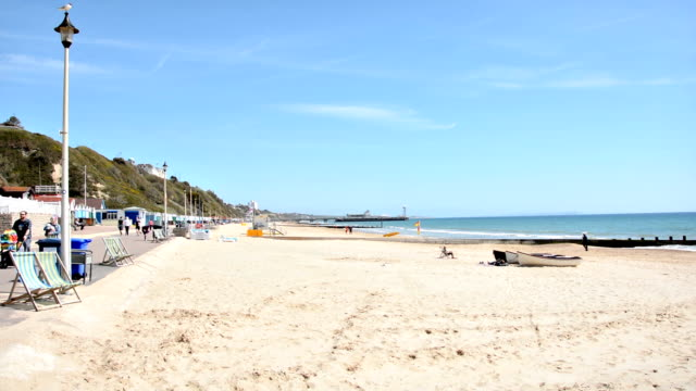Bournemouth Beach Promenade video