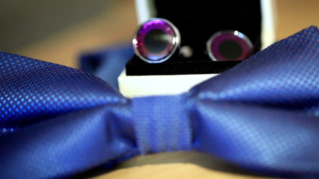 Bow tie and cufflinks 2 video