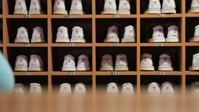 Bowling Shoes Taken From A Rack