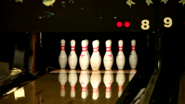 Bowling Strike (Full HD,1080p) video