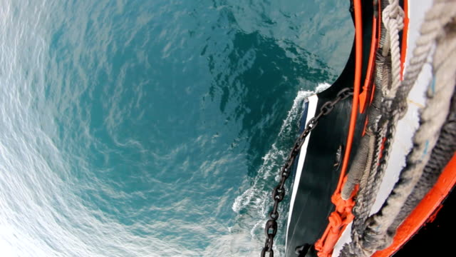 bowsprit of a sailing ship video