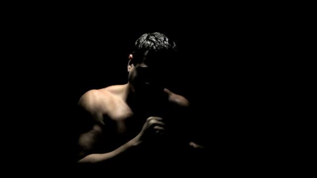 ボクサー Spars スローモーションで ビデオ