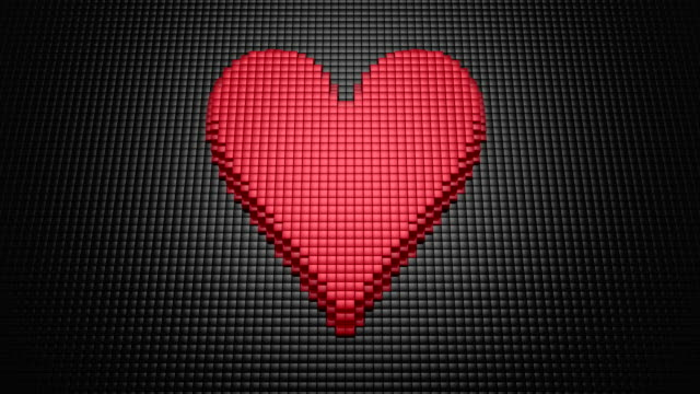 Boxes Form Pulsating Heart
