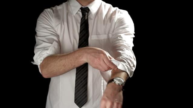 Boxing businessman video