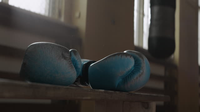 Boxing gloves video