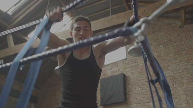 Boxing Gym Fitness Training Boxer video