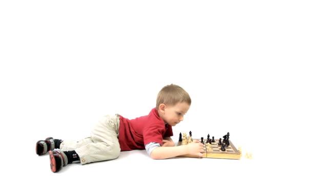 Boy Genius of chess. video