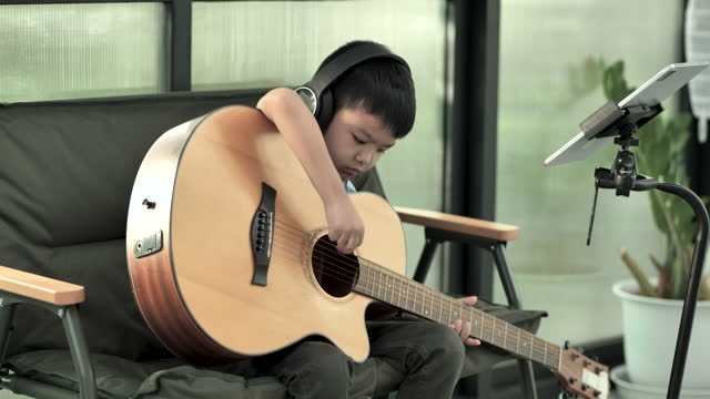 Playing Acoustic Guitar Free Stock Video Footage Download Clips Culture