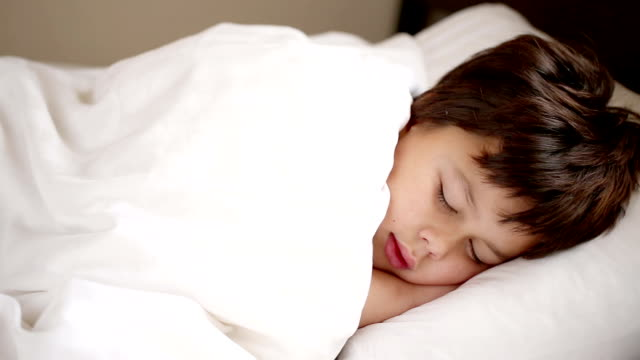 boy sleeping video